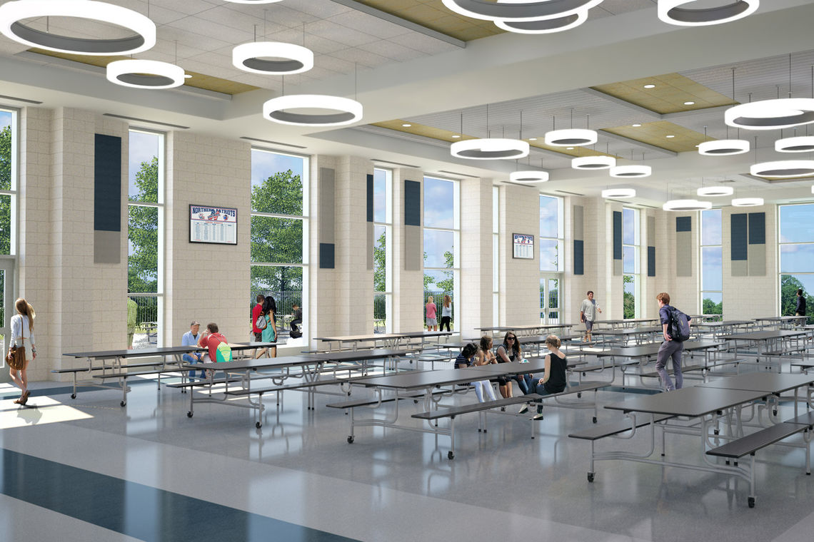 Gwwo architects news insights northern high school - How long is interior design school ...