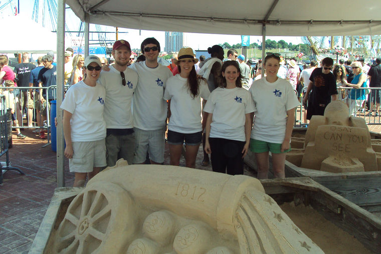 GWWO Sand Sculpture is People's Choice