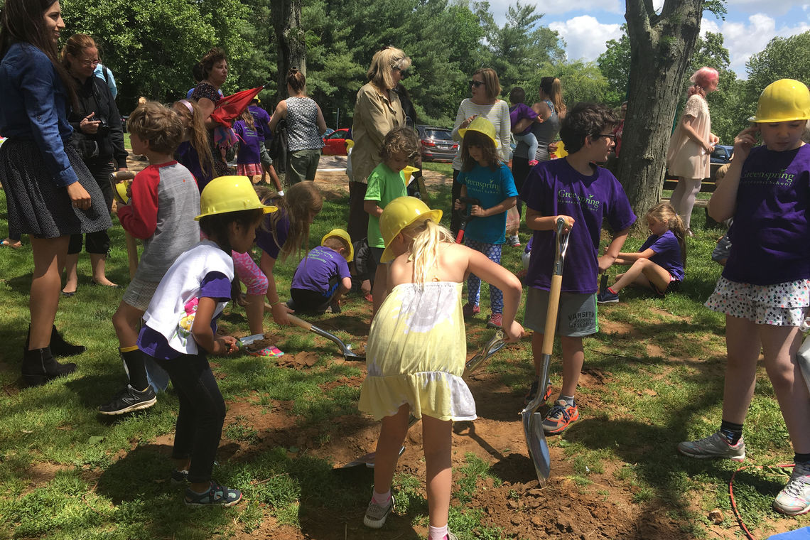 Groundbreaking Ceremony of Greenspring Montessori School Renovations & Additions