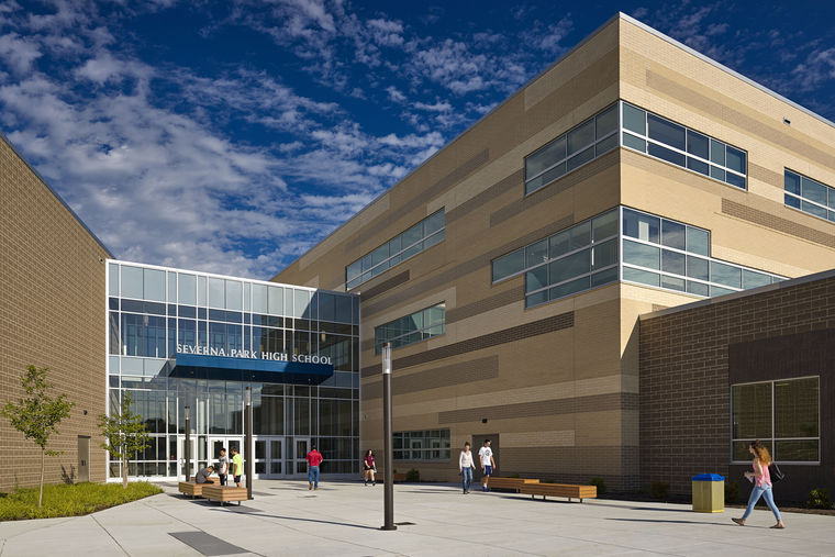 Severna Park High School Holds Ribbon Cutting Ceremony on First Day of Classes