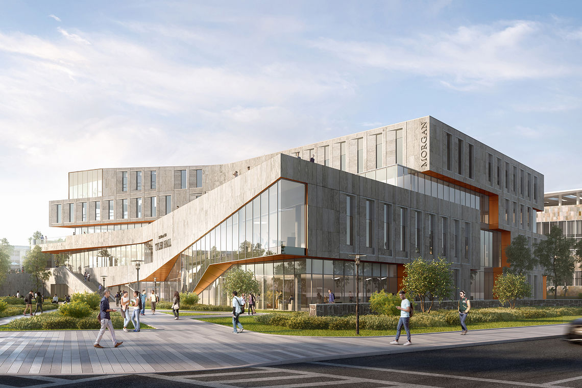Groundbreaking Held for Morgan State University's Student Services Building