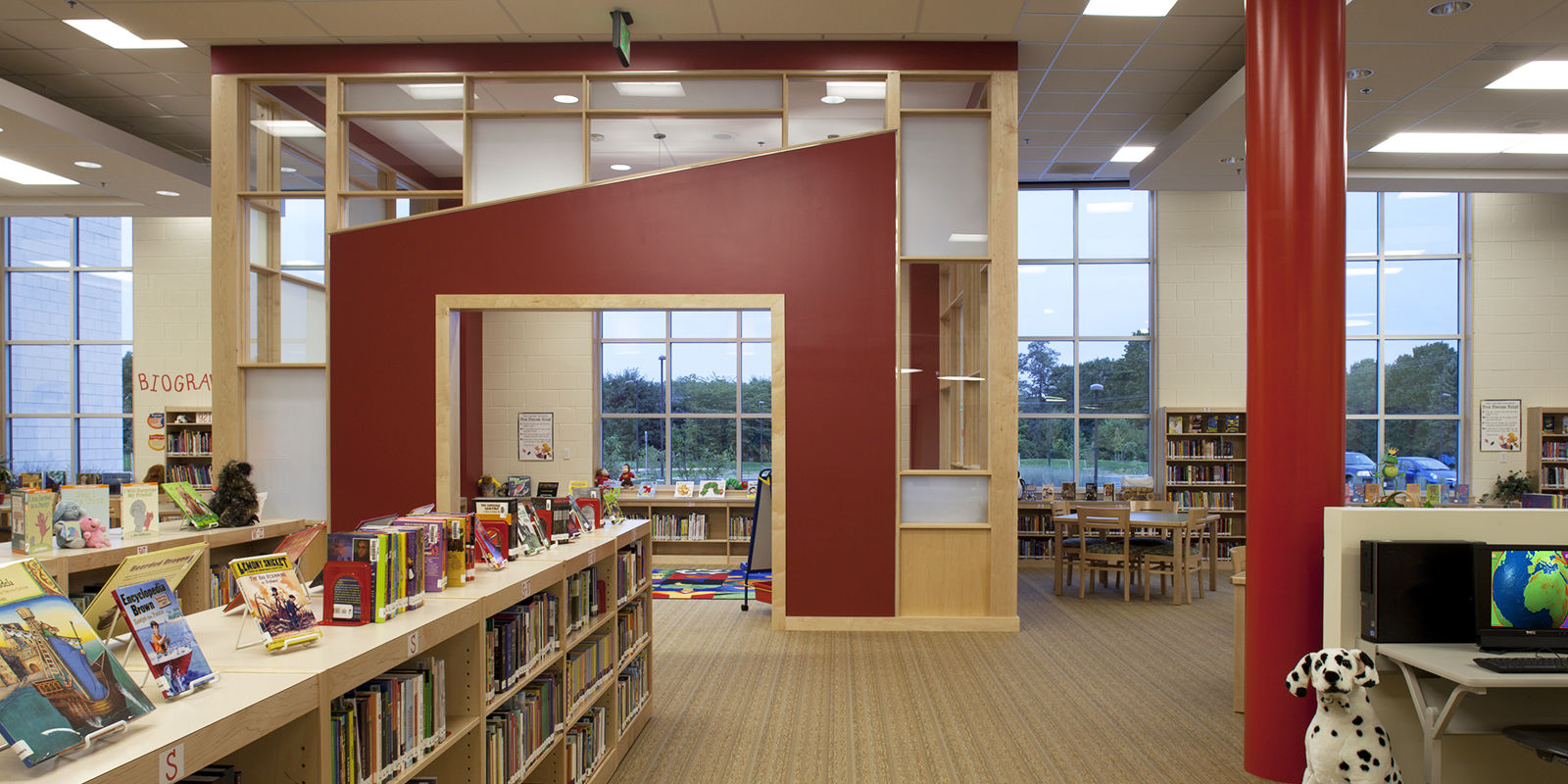 Gwwo architects projects red pump elementary school - Colleges that offer interior design programs ...