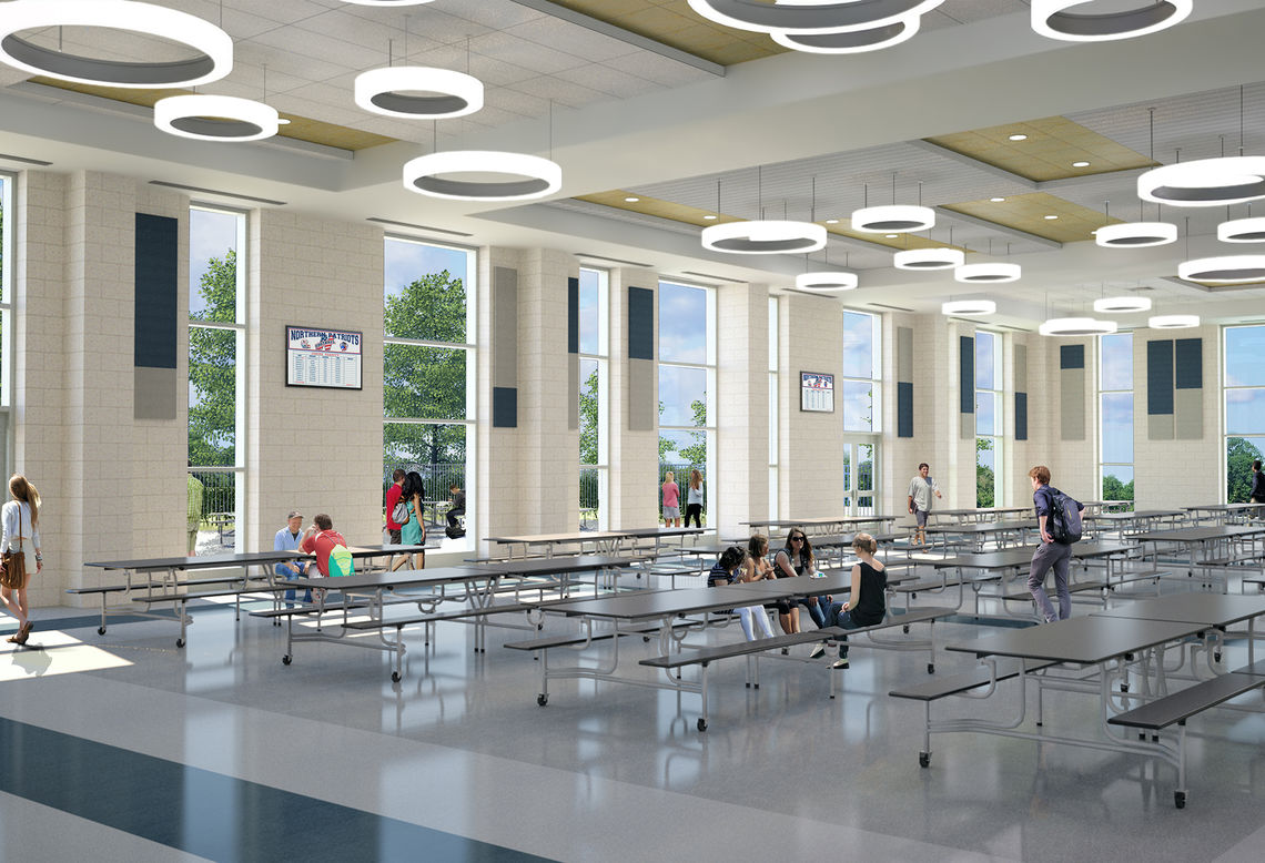 Gwwo architects projects northern high school - Interior design school nashville ...