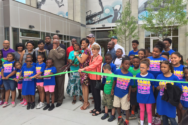 Ribbon Cutting Ceremonies of Two Baltimore City Recreation Centers