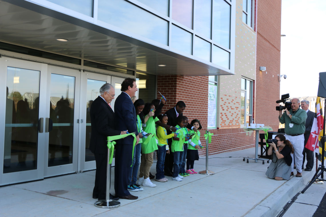 Lyons Mill Elementary School Ribbon-Cutting Ceremony
