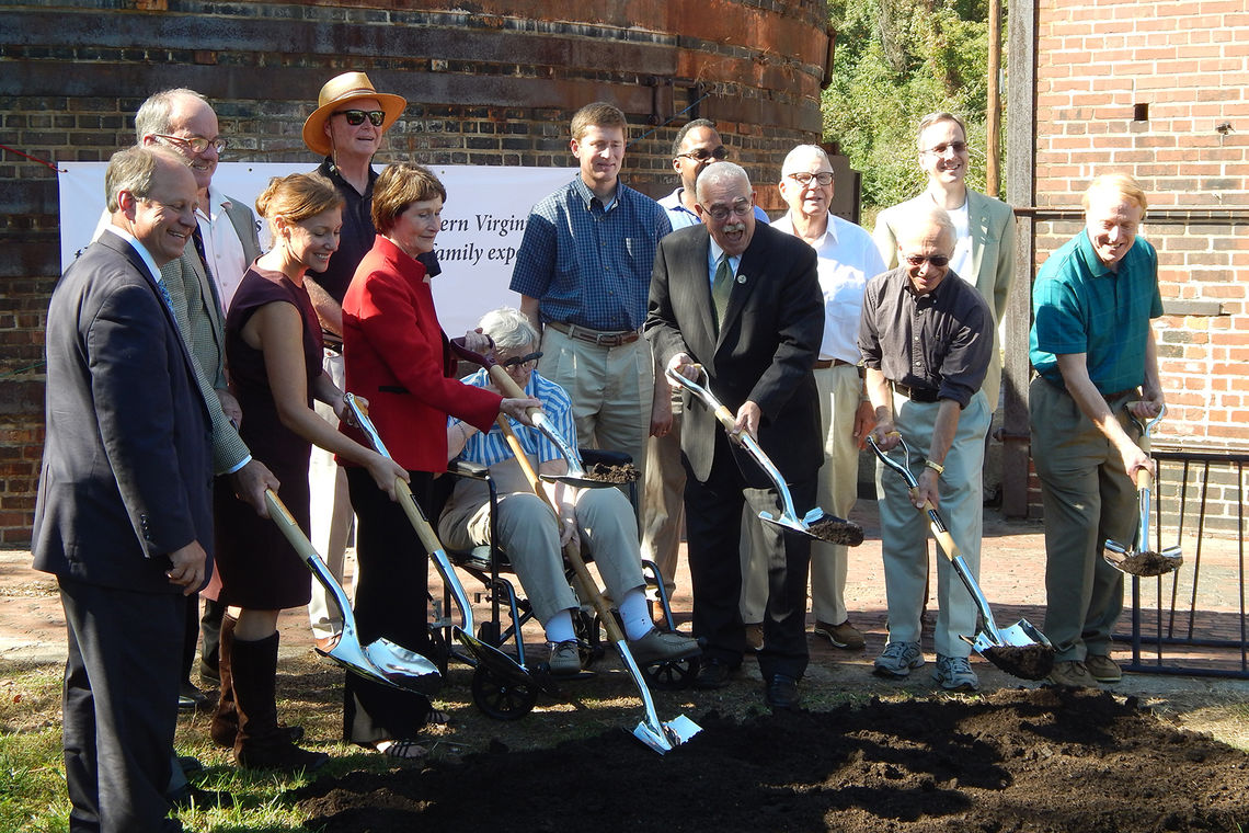 Ground Broken at Occoquan Regional Park
