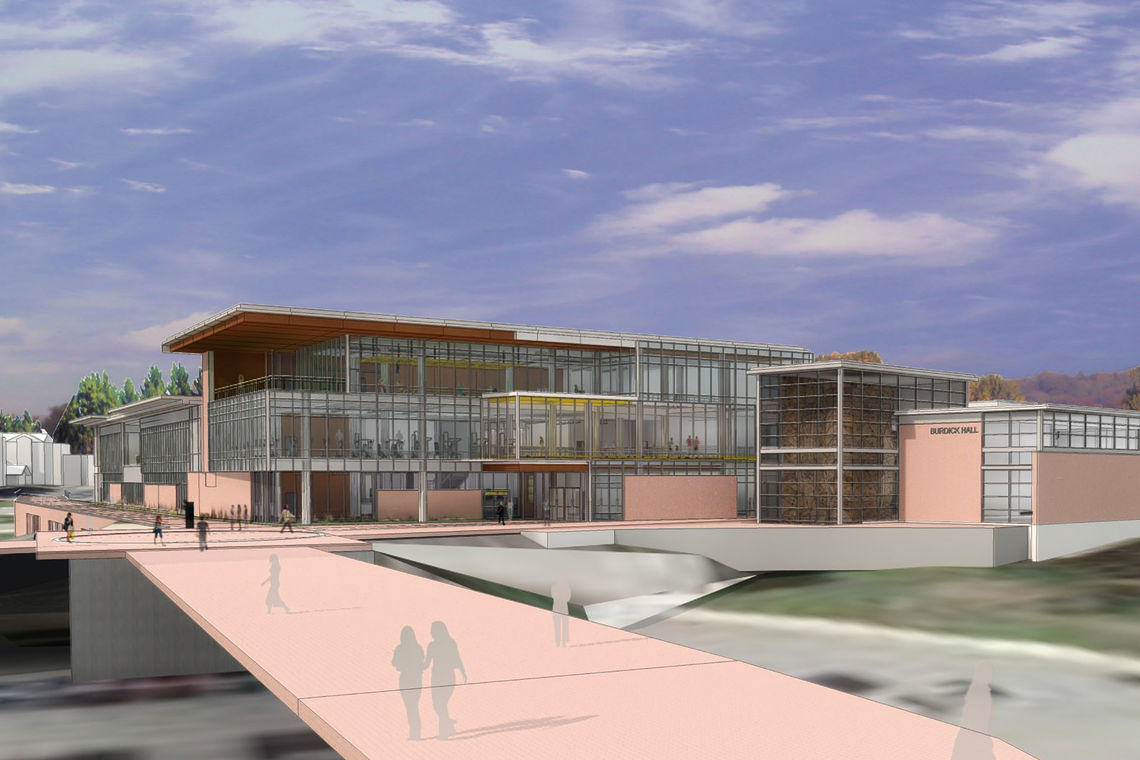 SD Approved for the Towson University Burdick Hall Expansion