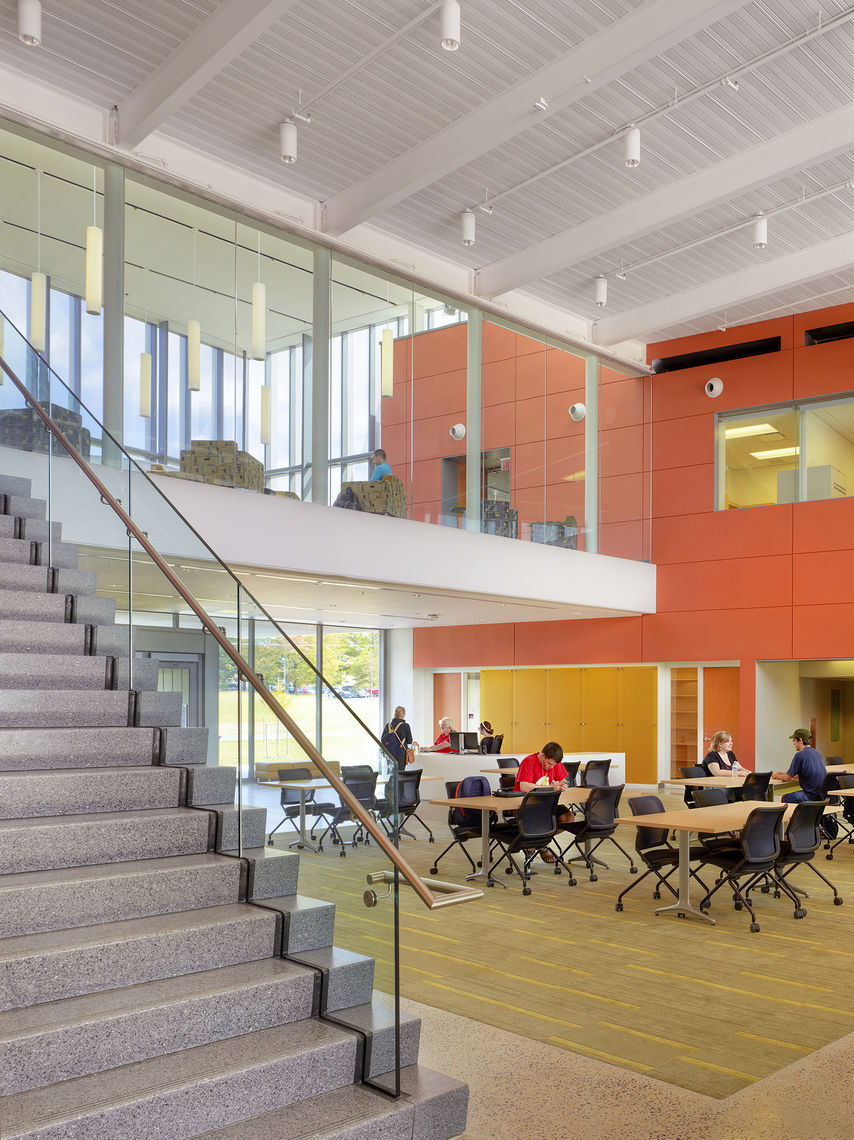 Gwwo architects projects towson university in - University of maryland interior design ...