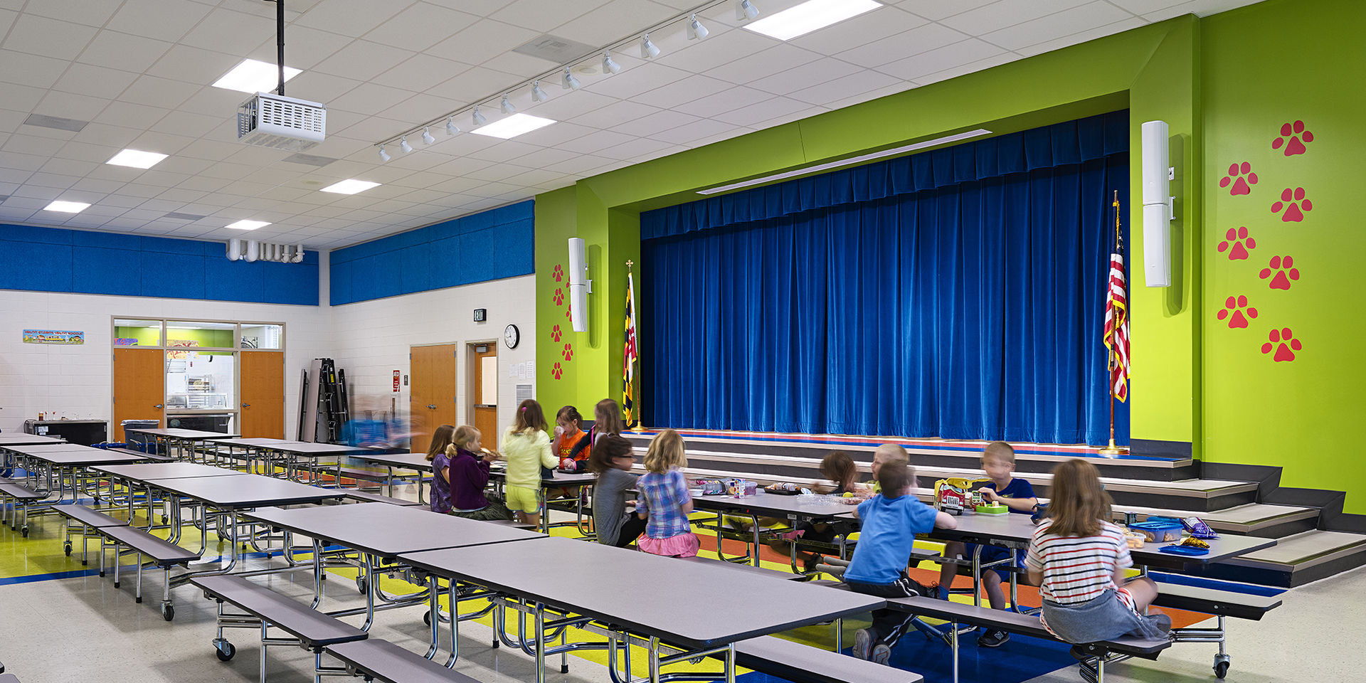 Gwwo architects projects benfield elementary school - How long is interior design school ...
