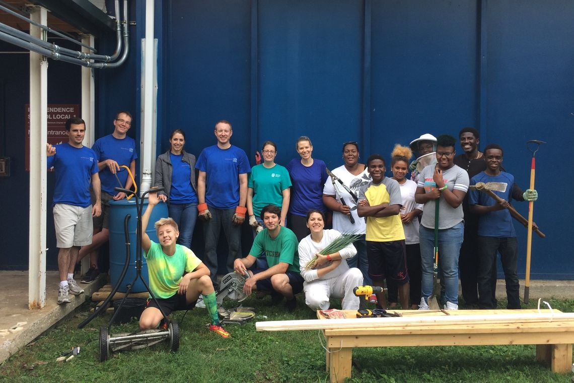 GWWO Participates in Green Apple Day of Service 2016