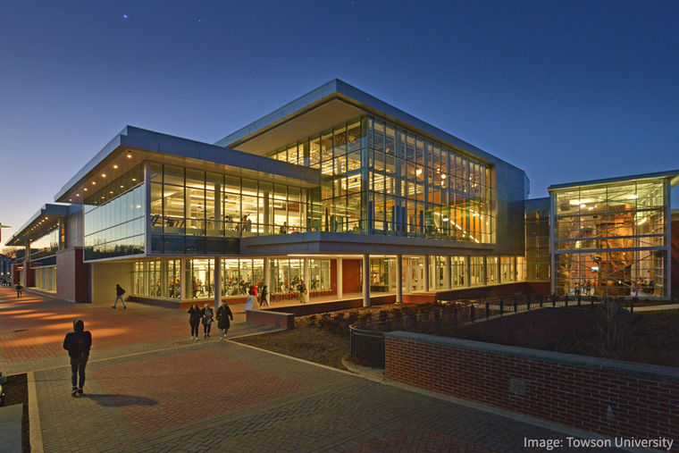 Towson University Celebrates the Grand Opening of Burdick Hall