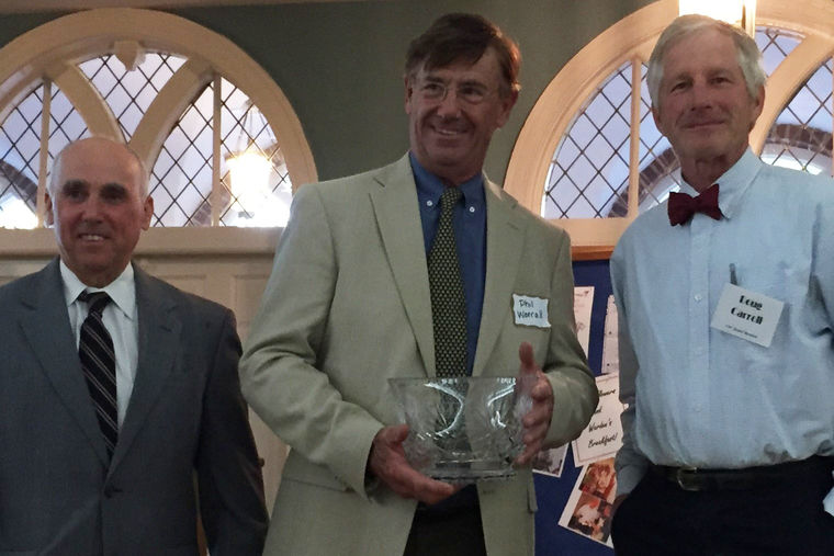 Phil Worrall Receives McHarg Award
