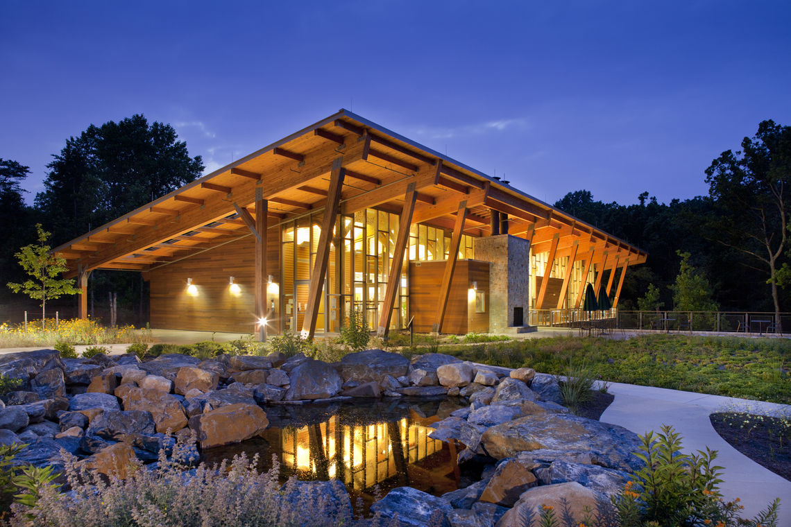 Robinson Nature Center Wins WoodWorks Award