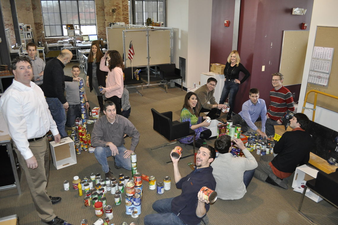GWWO Employees Donate to the Maryland Food Bank