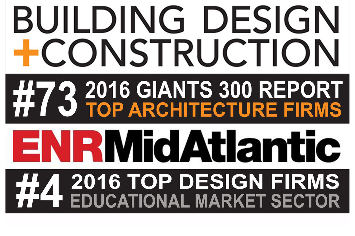 GWWO Nationally Ranked as a Top Architecture Firm