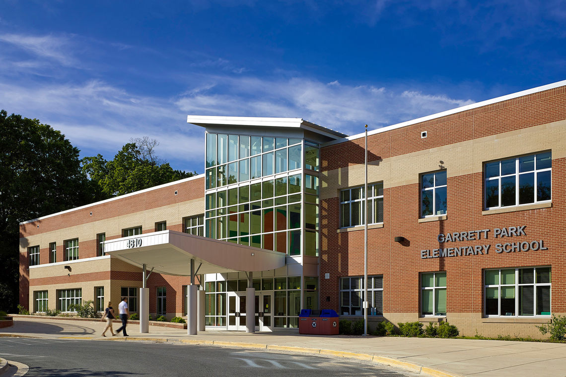 Garrett Park Elementary School Earns LEED Gold