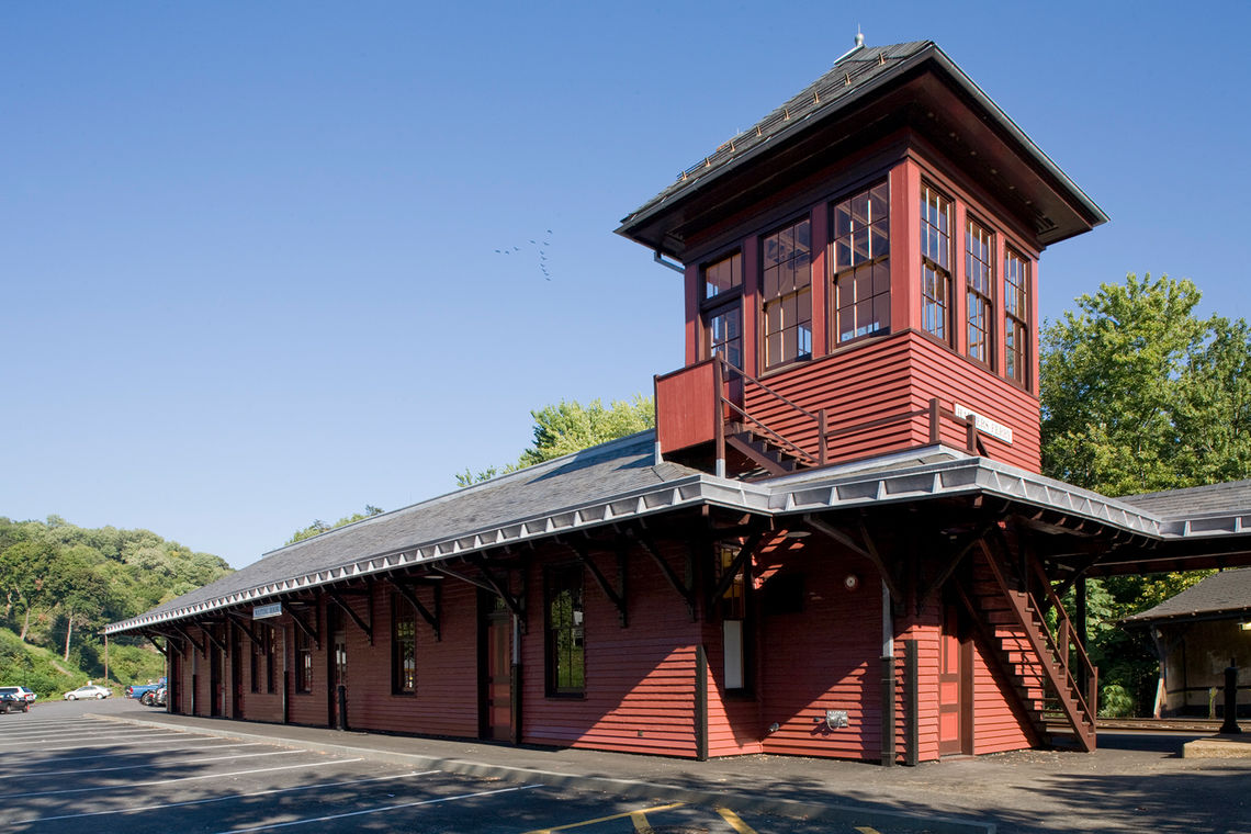 Gwwo Architects Projects Harpers Ferry Train Station