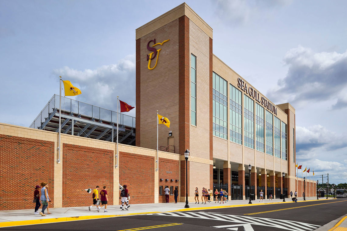 Grand Opening of Salisbury University's New Sea Gull Stadium