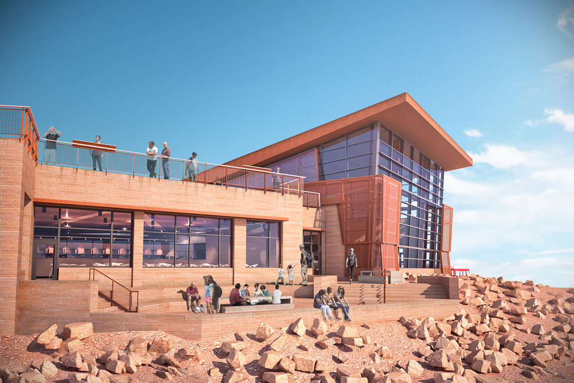 Pikes Peak Summit Complex Preferred Design Chosen