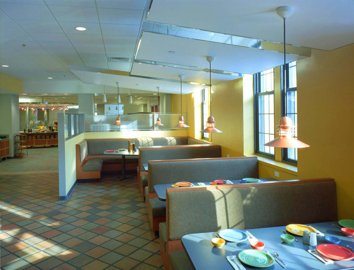 Gwwo Architects Projects Towson University Newell Dining Hall