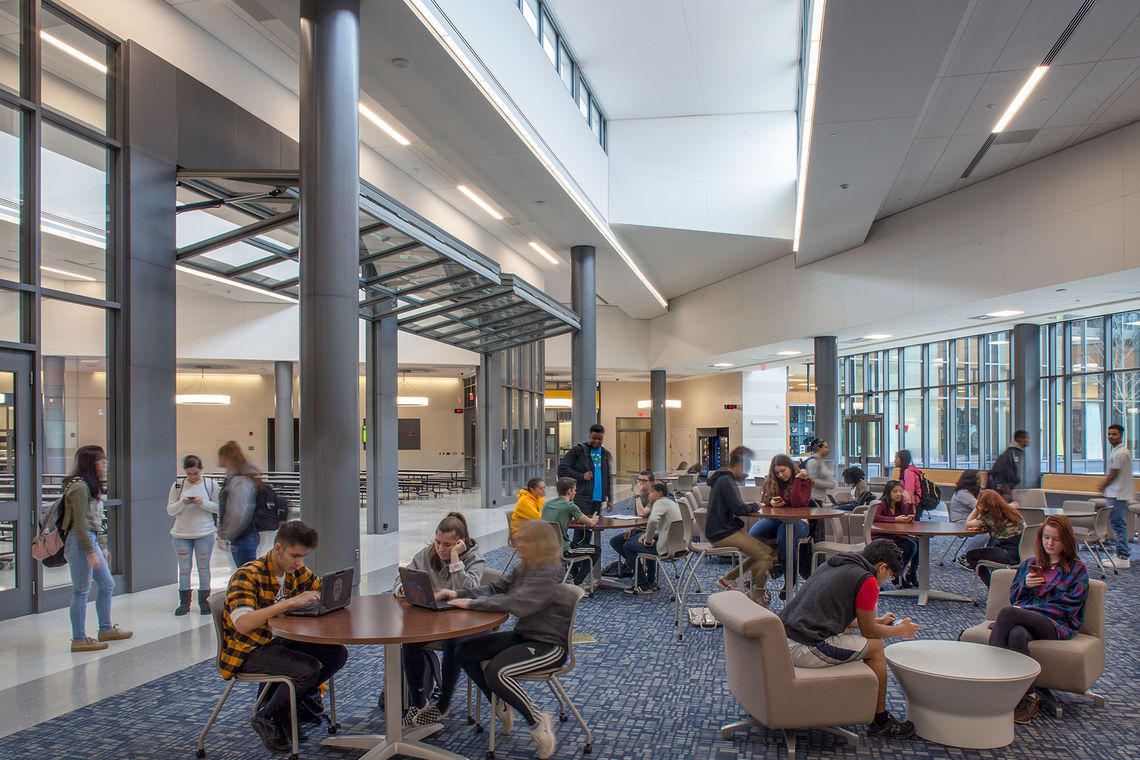 Gwwo inc architects projects frederick high school - Interior design school nashville ...