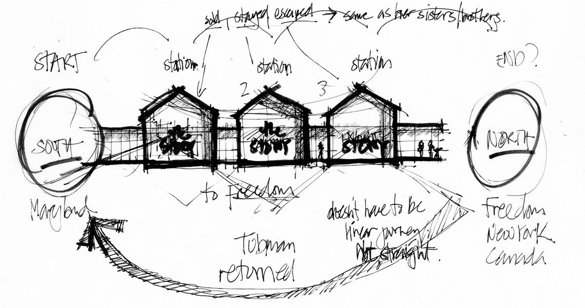 GWWO Architects | Projects | Harriet Tubman Underground