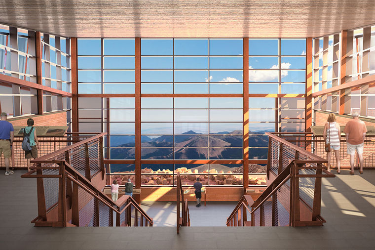 Pikes Peak Summit Visitor Center
