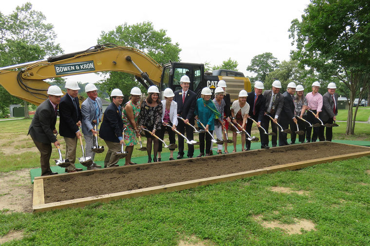 Groundbreaking of CCBC Essex Campus' Carol Diane Eustis Center for Health Professions