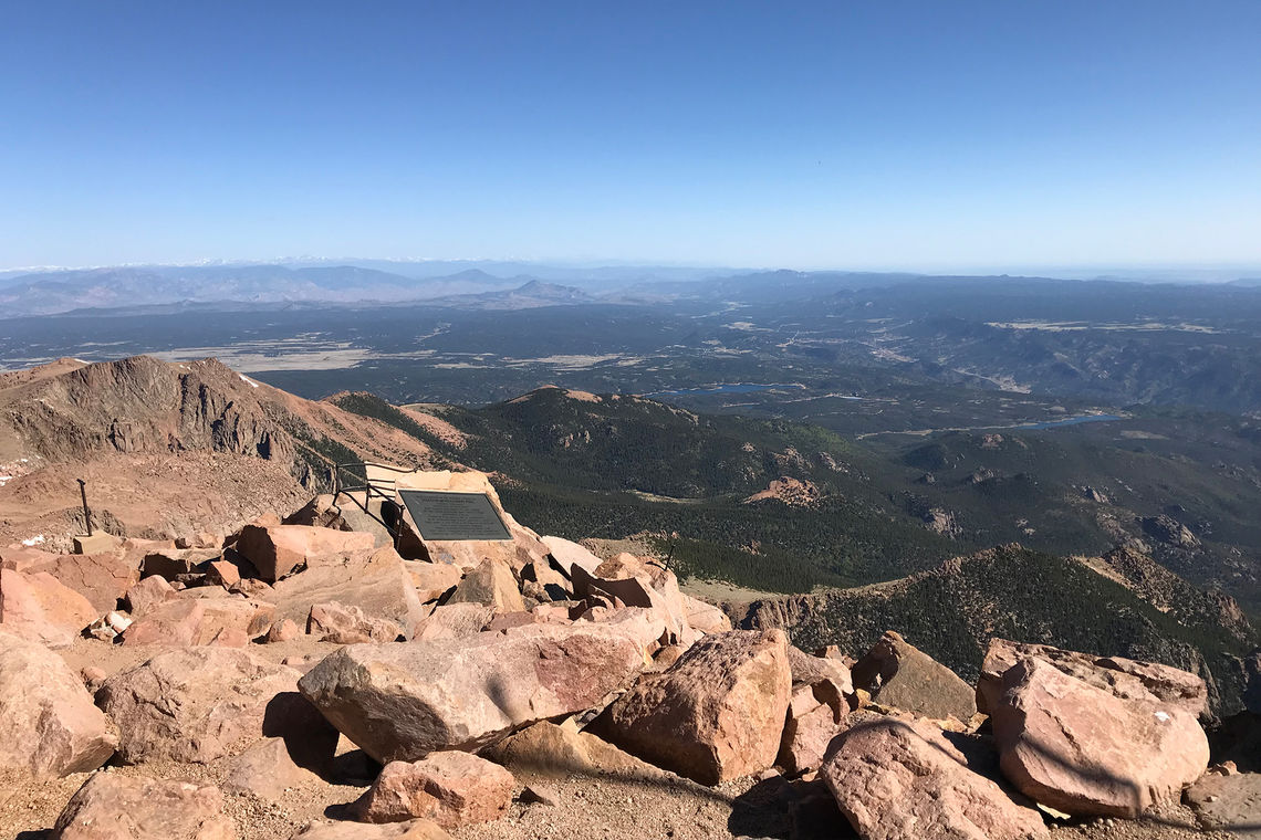 Pikes Peak Summit Complex Visitor Center Breaks Ground