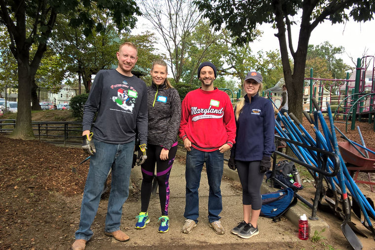 GWWO Volunteers Help Improve Garrett Heights Elementary/Middle School