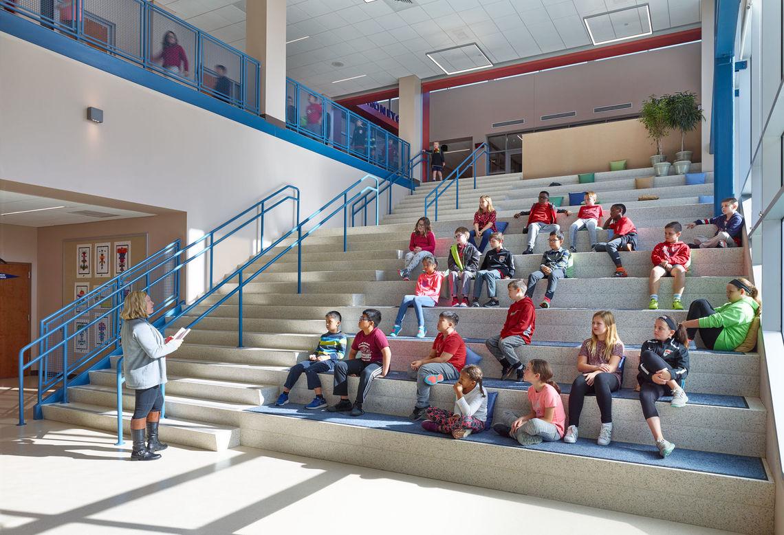 Gwwo Architects Projects Honeygo Elementary School Design