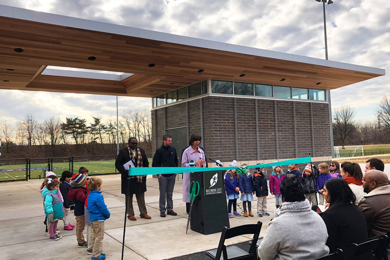 Baltimore City Rec & Parks Celebrates Opening of New Latrobe Park Field House