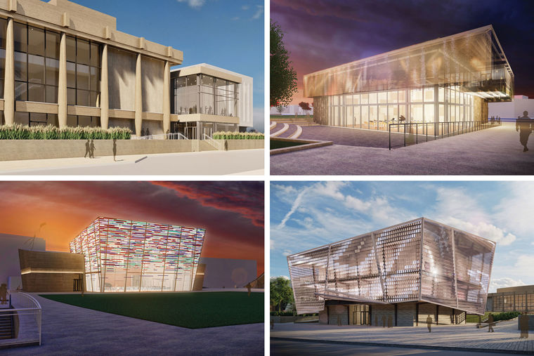 Design Concepts Revealed for a New Norfolk Performing Arts Facility & Renovated Chrysler Hall