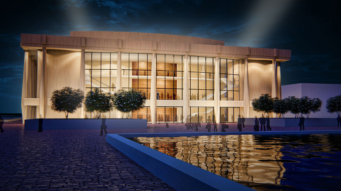 Proposed Chrysler Hall renovation