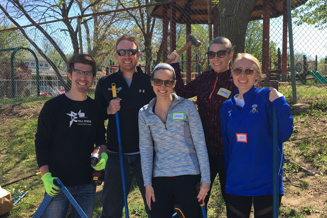 GWWO Employees Partake in Seventh Annual Green Apple Day of Service
