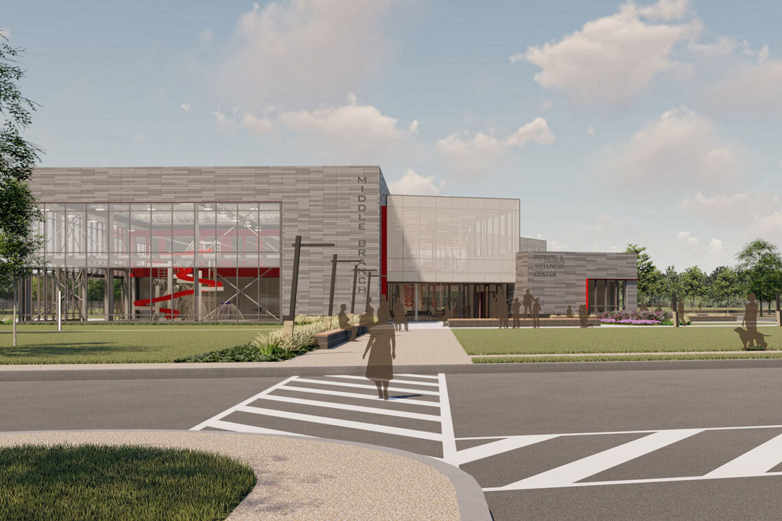 BCRP Celebrates Virtual Groundbreaking of Middle Branch Fitness & Wellness Center