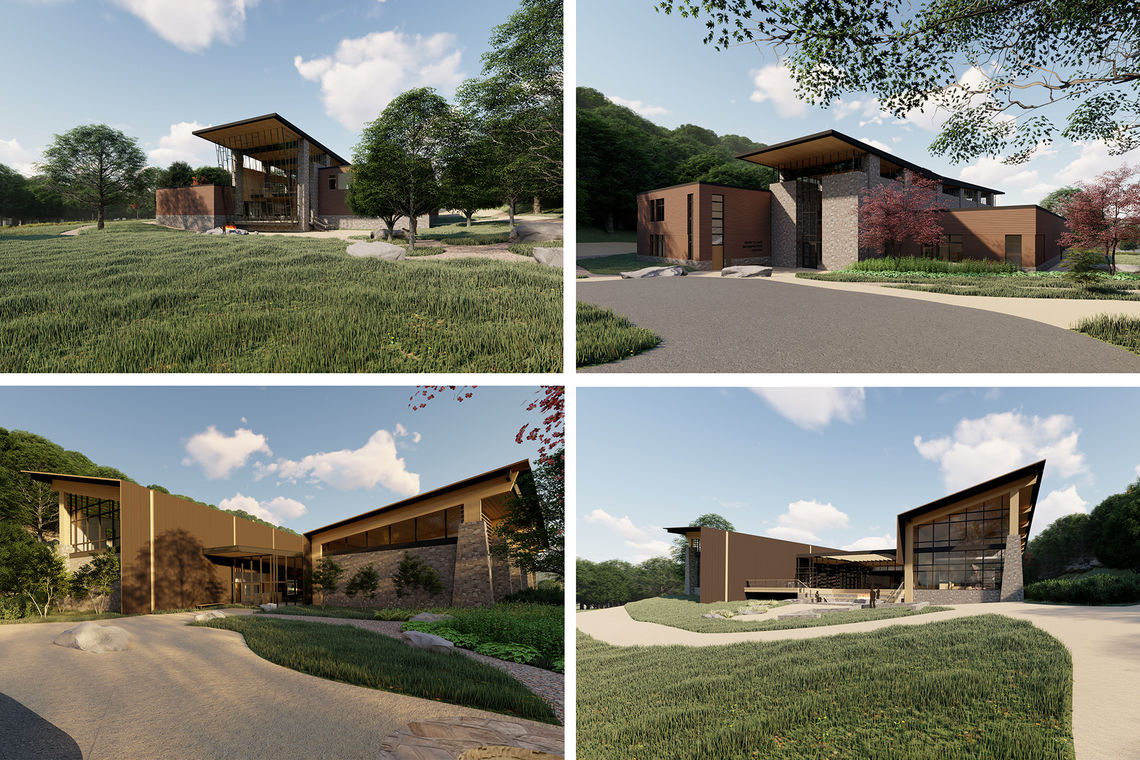 Conceptual Designs of Devil's Lake State Park Interpretive Education Center Unveiled
