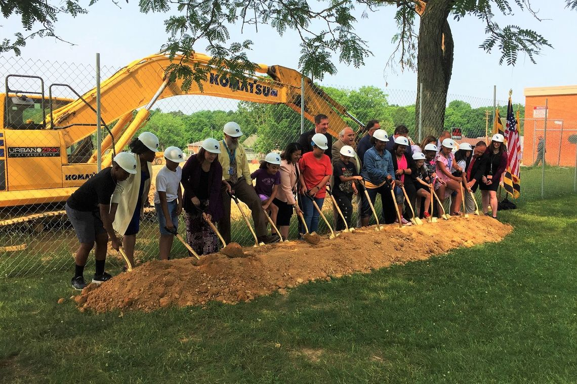 Groundbreaking Ceremony of Berkshire Elementary School
