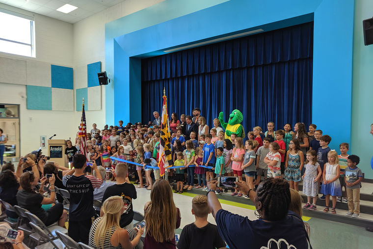 Grand Opening of Arnold Elementary School