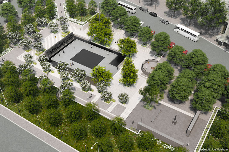 Construction Kicks Off on the National WWI Memorial in Washington, DC