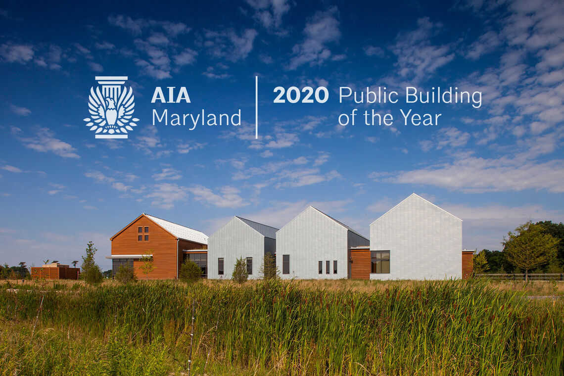 Harriet Tubman Underground Railroad Visitor Center Named AIA Maryland Public Building of the Year